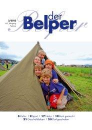 Februar 2013 - Der Belper
