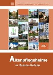 Altenpflegeheime in Dessau-Roßlau 2013
