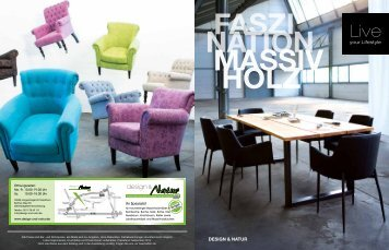 NEU !! Faszination Massivholz - Jahreskatalog 2014 - design & Natur