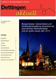 Inhalt - Gemeinde Dettingen an der Erms