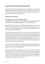 Deutsche EuroShop AG - Einzelabschluss 2012