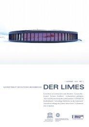 Deutschen Limeskommission 7, 2013, 1 PDF