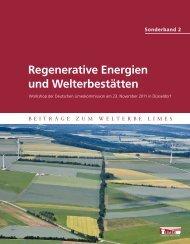 Regenerative Energien und Welterbestätten - Deutsche ...