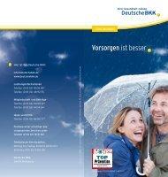 Vorsorgen ist besser (PDF, 832 KB) - Deutsche BKK