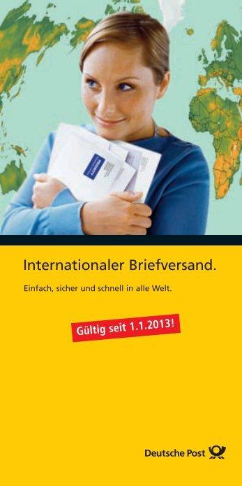 Privatkundenbroschüre - Deutsche Post