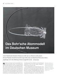 Das Bohr'sche Atommodell im Deutschen Museum - Deutsches ...