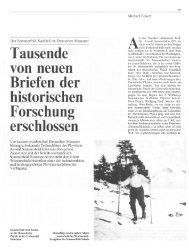 Der Sommerfeld-Nachlaß im Deutschen Museum: Dr. Arnold ...