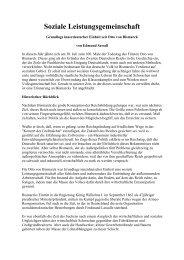Soziale Leistungsgemeinschaft - Das Deutschland Journal