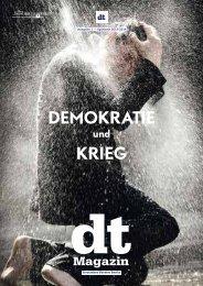 DT Magazin | Ausgabe 1 - Spielzeit 2013/13 - Deutsches Theater