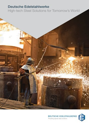 High-tech Steel Solutions for Tomorrow's World - Deutsche ...