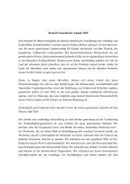 Deutsch-Französische Agenda 2020 Seit nunmehr 60 Jahren ... - DFH