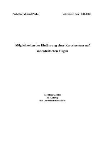 Gutachtens - Deutscher Fluglärmdienst eV