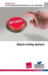 Gleich richtig starten! - DGB-Bildungswerk NRW e.V.