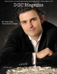 Mr. Tarek Saab Virtual Bullion Dealer - DGC