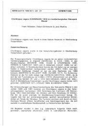 ARTICULATA 1993 8(1): 29 - 31 VERBREITUNG Chorthippus ...