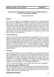 ARTICULATA 2007 22 (2) - Deutsche Gesellschaft für Orthopterologie