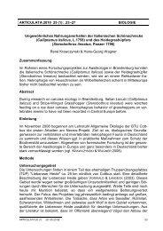 ARTICULATA 2010 25 (1): .23–27 BIOLOGIE Ungewöhnliches ...