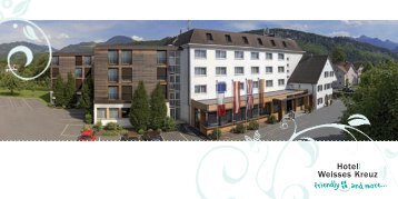 Hotel Prospekt (2 16 MB) - Hotel Weisses Kreuz Feldkirch
