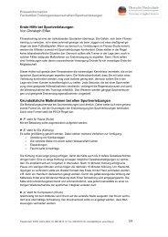 1/4 Erste-Hilfe bei Sportverletzungen Von Christoph Eifler ...