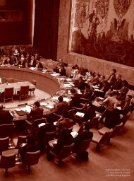 The UN and the African Union's security architecture: defining an ...