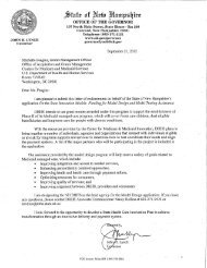 SIM Grant Proposal - New Hampshire Department of Health and ...