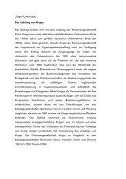 Jürgen Lindenlaub Der Aufstieg von Krupp Der Beitrag befasst sich ...