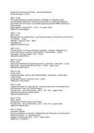 Hochschulbibliothek Neuerwerbungen 11/2013 AB/F 1.4-366 ...