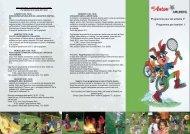 Programme pour les enfants F Programma per bambini I
