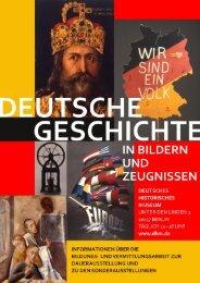 Infomationsmaterial - Deutsches Historisches Museum