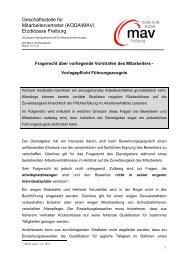 Vorlagepflicht Führungszeugnis - DIAG - MAV Freiburg