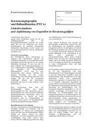 Patientenaufklärung - DIAKO Flensburg