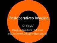 Postoperatives Imaging - Diagnostikum Graz Süd
