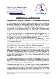 Merkblatt zur Schülerbeförderung Juni 2013 - Diakonie Leipzig
