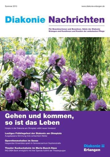 Diakonie Nachrichten - Diakonie Erlangen