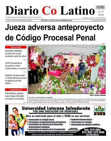 Jueza adversa anteproyecto de Código Procesal Penal