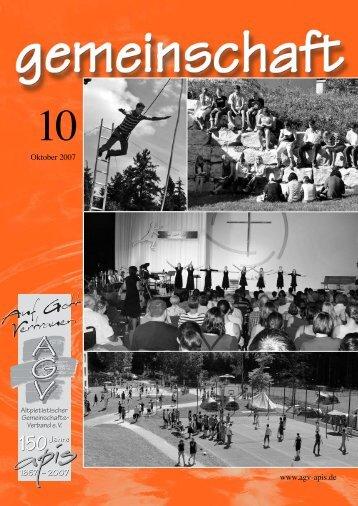 www.agv-apis.de Oktober 2007