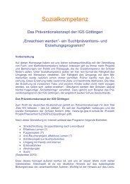 IGS Göttingen II Die beste Schule Deutschlands? - Didaktikreport