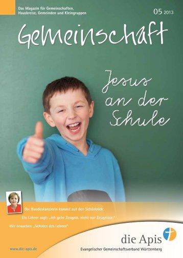 Jesus an der Schule - die Apis