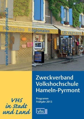 Frühjahrsprogramm 2013 - Deutsches Institut für Erwachsenenbildung