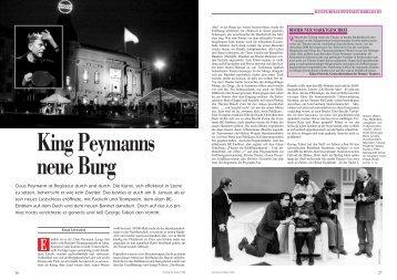 BishEr nur MarktgEschrEi Claus Peymann ist Regisseur durch und ...