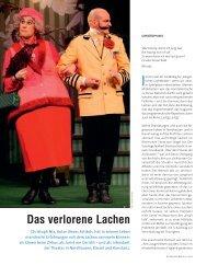 Das verlorene Lachen - Die Deutsche Bühne
