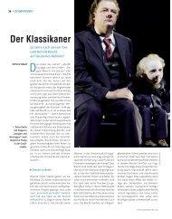 Der Klassikaner - Die Deutsche Bühne
