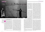 Schwerpunkt - Die Deutsche Bühne