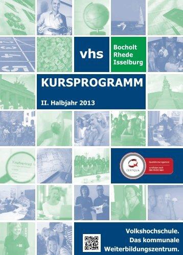 Herbstprogramm 2013