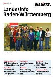 Landesinfo Baden-Württemberg - DIE LINKE Baden-Württemberg