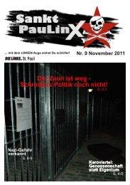 Sankt PauLinX Nr. 9 / November 2011 - DIE LINKE auf St. Pauli