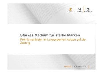 (Microsoft PowerPoint - Starkes Medium f\374r ... - Die-Zeitungen.de