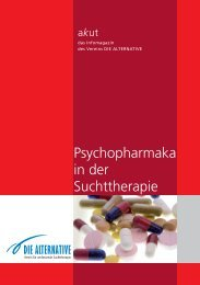 akut 19 - Psychopharmaka in der Suchttherapie - Die Alternative