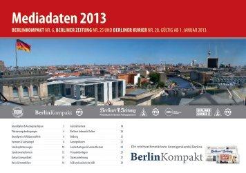 mediadaten 2013 - Die-Zeitungen.de