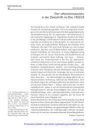 Der »Atomismusstreit« in der Zeitschrift DIE DREI 1922/23